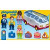 Playmobil 123 Airport Shuttle Bus
