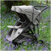 Roma Gemini Double Twin Stroller, Grey