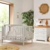 Tutti Bambini Malmo 2 Piece Room Set, Dove Grey & Oak