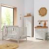 Tutti Bambini Malmo 3 Piece Room Set, Dove Grey & Oak