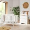 Tutti Bambini Malmo 2 Piece Room Set, White & Dove Grey