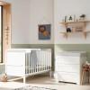Tutti Bambini Rio 2 Piece Room Set, White & Dove Grey